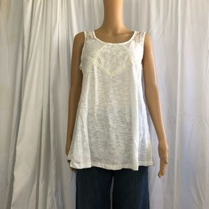 NWT Lace Tank Top Small